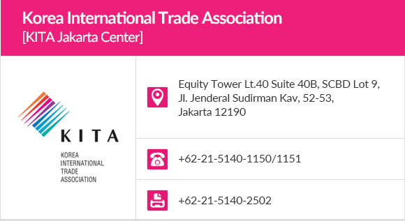 Korea International Trade Association  					[KITA Jakarta Center]